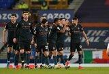 """Ir toliau nesustabdomi: """"Everton"""" nugalėjęs """"Man City"""" nuo artimiausio varžovo """"Premier"""" lygoje atitrūko 10 taškų"""