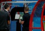 FIFA: teisėjų sprendimai po VAR konsultacijų – praktiškai tobuli