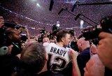 """""""Super Bowl LIII"""": blogiausi reitingai per 10 metų, sumišęs LeBronas, visų laikų antirekordas ir sugrįžti pažadėjęs T.Brady"""