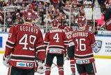 """Be N.Ališausko žaidusi """"Dinamo"""" neturėjo vilčių prieš absoliučius KHL lyderius"""