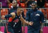 JAV rinktinė finale gali būti priversta verstis be R.Westbrooko