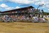 Europos motokroso čempionato etape lietuviams sekėsi permainingai