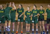 Lietuvos U20 merginų rinktinė čempionatą baigė užtikrinta pergale