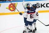 Slovakai pergalingai pradėjo pasaulio ledo ritulio čempionatą