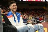 LaVaras sūnų LaMelo norėtų matyti dvejose NBA komandose