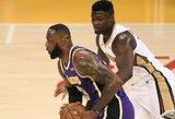 """NBA ir žaidėjų asociacija sutarė dėl """"Visų žvaigždžių"""" savaitgalio datos"""
