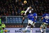 """Geriausiu """"Serie A"""" žaidėju tapęs C.Ronaldo įvardijo įspūdingiausią savo įvartį ir užsiminė apie žaidimą iki 40-ies"""