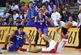 Filipinų rinktinės stovykloje trenerio braižomi deriniai verčia kvatoti žaidėjus