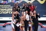 Rusijoje baigėsi savaitę trukęs šalies sportinių šokių čempionatas: atkaklios kovos ir galvosūkiai federacijai
