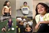 """Susipažinkite: jam aštuoneri, bet jis turi Ronaldo """"presą"""", L.Messi driblingą ir 4,6 mln. sekėjų """"Instagram'e"""""""