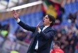 """""""Lazio"""" treneris S.Inzaghi: """"Kai kurie futbolo klubai tiesiog gali išnykti"""""""