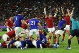 Pasaulio regbio čempionato ketvirtfinalyje – vieno taško drama