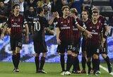 """""""Milan"""" baudinių serijoje įveikė """"Juventus"""" ir iškovojo Italijos supertaurę"""