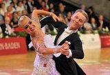 """Šokėjai E.Sodeika ir I.Žukauskaitė laimėjo prestižinių """"Grand Slam"""" varžybų Kinijoje bronzą"""