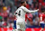 """""""Real"""" kapitonas S.Ramosas rėžė motyvacinę kalbą komandos draugams"""