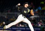 D.Neverauskas sužaidė vienas geriausių rungtynių šiame MLB sezone