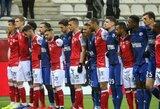 """Vienintelėse rungtynėse Prancūzijoje """"Reims"""" iškovojo pergalę"""