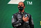 """L.Hamiltonas pasiekė susitarimą su """"Mercedes"""": 40 mln. eurų už sezoną ir dvi specialios išlygos"""