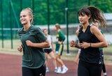 Moterų rinktinė pradėjo pasiruošimo stovyklą Druskininkuose