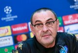 """Napoli"" strategas: ""Man City"" yra pajėgiausia ekipa Europoje"