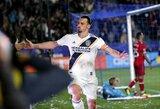 """MLS lyga: du baudinius realizavęs Z.Ibrahimovičius nukalė """"Galaxy"""" pergalę"""