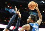 """A.Wigginsas išliejo pyktį ant """"76ers"""" ir sukūrė efektingiausią NBA dienos momentą"""
