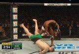 Pamatykite: UFC debiutantas nokautavo C.McGregoro komandos draugą mesdamas jį ant žemės