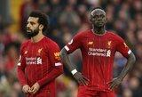 S.Mane atskleidė, kaip komandos draugai sureagavo į jo nesutarimus su M.Salah