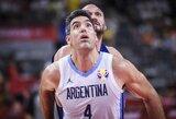 """L.Scola apie Argentinos patekimą į pusfinalį: """"Erzina, kad žmonės apie tai galvoja kaip apie staigmeną, nusipelnėme čia būti"""""""