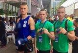 Pasaulio muaythai čempionate liko kovoti vienas lietuvis