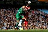 """Šmaikštu: jeigu """"Manchester City"""" praras dar daugiau žaidėjų, vartininkas Edersonas pasirengęs tapti saugu"""