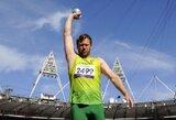 Rutulio stūmikas M.Bilius pagerino Europos neįgaliųjų sporto rekordą