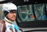 """Dviratininkas G.Bagdonas """"Vuelta a Espana"""" lenktynių etape – 11-as"""