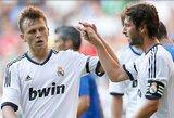 """""""Real"""" klubas draugiškose rungtynėse sutriuškino """"Oviedo"""" vienuolikę"""