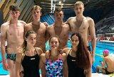 K.Teterevkova ir A.Pavlidi Europos jaunimo plaukimo čempionate pateko į pusfinalį