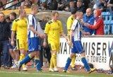 """""""Kilmarnock"""" klubo rungtynėse mirė jau trečias fanas"""