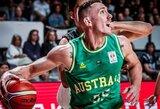 """M.Creekas: """"Lietuviai gali pasaulio čempionate kovoti dėl medalių"""""""
