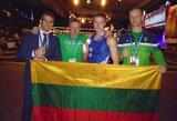 M.Jasiūnui – pasaulio muaythai čempionato sidabras (papildyta)