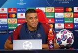 """Čempionų lygos titulą iškovoti trokštantis K.Mbappe: """"Noriu sukurti Prancūzijos futbolo istoriją"""""""