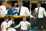 """A.Conte dėl plaukų įsivėlė į konfliktą su varžovų žaidėju: """"Pasimatysime po rungtynių"""""""