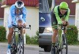 """Prestižinėse """"Giro d'Italia"""" lenktynėse – du Lietuvos dviratininkai"""
