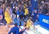 FIBA atrankos rungtynėse – žiaurios muštynės, filipiniečių asmenukė ir trylikos žaidėjų išvarymas