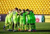 """""""Riteriai"""" išvykoje ant menčių patiesė Lietuvos futbolo A lygos lyderę """"Sūduvą"""""""