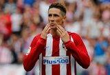 """F.Torresas, A.Griezmannas ir K.Gameiro atnešė triuškinamą pergalę """"Atletico"""" klubui"""