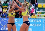 I.Dumbauskaitė ir M.Povilaitytė – pasaulio jaunių paplūdimio tinklinio čempionato pusfinalyje