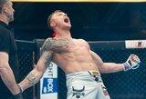 """""""MMA Bushido 77"""": S.Maslobojevas ir M.Žaromskis nokautais sugrįžo į MMA, čempionu tapęs T.Pakutinskas iškovojo didžiausią karjeros pergalę"""