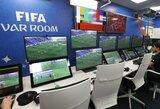 UEFA skubiai testuoja VAR technologiją prieš Čempionų lygos atkrentamąjį etapą