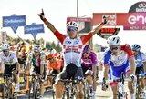 """I.Konovalovo komandos draugas """"Giro d'Italia"""" lenktynėse tapo sprinterių įskaitos lyderiu"""