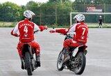 """Pabaltijo motobolo čempionate – įspūdinga """"Bartuvos"""" pergalė ir """"Mildos"""" lygiosios"""