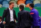 """""""RB Leipzig"""" strategas kalbėjo apie neįsileistą paniką po """"Atletico"""" įvarčio bei gynybos svarbą prieš PSG"""
